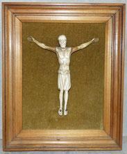Jesus Christus, Korpus, Bein, Figur, Kreuzigung, 18. Jahrhundert, € 1100,00