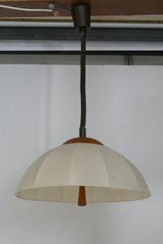 60er Jahre Teak Deckenleuchte, Höhenverstellbar,Danish Design, Mid Century , € 290,00