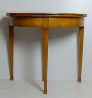 Spieltisch, Kirschbaum, Biedermeierm, Filzauflage, Rund, Wandtisch, € 750,00