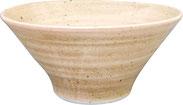 HB桃山粉引_5.5モダ麺鉢