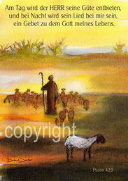 Hirte, Schafe, Psalm