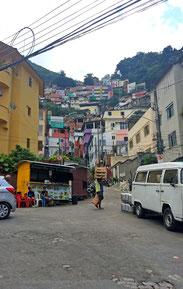 santa marta, favela, rio de janeiro, gastgeschenk, brasilien