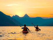 Kanuwelt Sunset-Paddeln