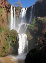 Marokkos höchste Wasserfälle: Cascade d´Ouzoud.