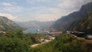 Bucht von Kotor (Montenegro).