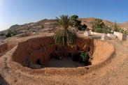 Höhlenwohnungen in Matmata.