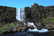 Islands schöne Wasserfälle.