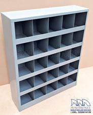 Palomares para tornillos, estantes para tornillos y refacciones