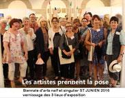 Biennale Internationale d'Arts Naïf et Singulier à St Junien