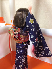 Japanese kimono doll,Japanese clothing