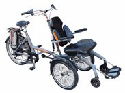 Van Raam O-Pair 2 Dreirad und Elektro-Dreirad für Erwachsene - Spezial-Dreirad 2020