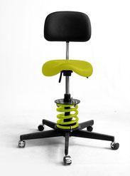 HIPP Federstuhl mit Sattel oder Joky