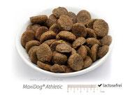 MaxiDog® Athletic Alleinfuttermittel - Für aktive Hunde, die schonende Kost benötigen