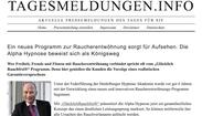 Alpha Hypnose Mannheim Presse Artikel PresseEcho.de