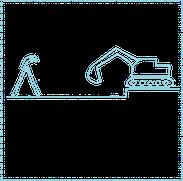 archäologische Ausgrabungen - Voruntersuchung