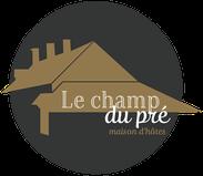 Dans le 1000 Communication - Agence graphique en Loir-et-Cher - Création de logos et de chartes graphiques - Logo des chambres d'hôtes Le Champ du Pré en Sologne