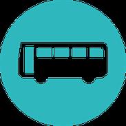 三方原スイミングスクールのスクールバス