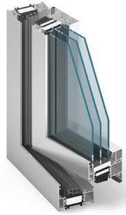 MB86 Aluminiumfenster
