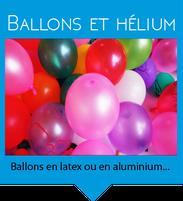 location ballons hélium