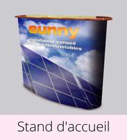 Imprimco - Impression 100% en ligne- impression Nice - Provence-Alpes-Côte d'Azur - vos stand d'accueil à prix attractif