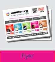 Imprimco - Impression 100% en ligne- impression mulhouse - vos flyers à prix attractif