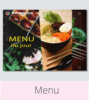 Imprimco - Impression 100% en ligne- impression normandie - vos menus restaurants à prix attractif
