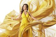 mueden.de, Preisliste, Meisterreinigung, Bild von Dame in gelben Kleid