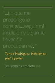 Testimonio del proceso personal de coaching de Yanira Rodríguez