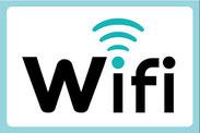 仙台 会議室FLAT Wi-Fiロゴ