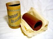 Cylindre de cire pour graphophone - Image Wikipedia