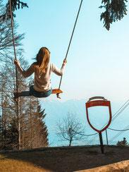 Cardada, Aussicht, Swing the World, GrandTour of Switzerland
