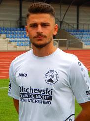 Murat Berbero läuft morgen für die A-Jugend auf.