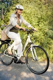 Sicher unterwegs mit einem e-Bike