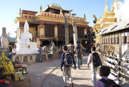 Monastère Swayambunath, Katmandou, Népal