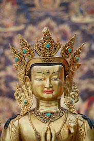 "Buddha ""Liebevolle Augen"" (tib. Chenrezig, skt. Avalokiteshvara) Foto: Jan Sochman"