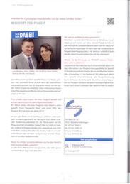 Interview mit Klara Schäffer in Metall & mehr, Nr. 26, März 2015.