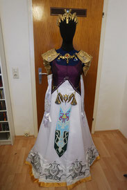 Zelda Twilight Princess cosplay dress Kleid Kostüm costume