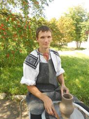 Буров Александр Александрович. Мастер по гончарству