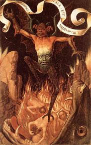 Enfer, Hans Memling, 1485