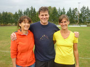 Marion, Bernd und Tanja
