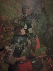 Archers par Frank Craig.Musée d'Orsay.Source Michel Hourdebaigt