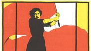 Plakat der Frauenbewegung. Quelle: Wikimedia/Karl Maria Stadler, gemeinfrei.