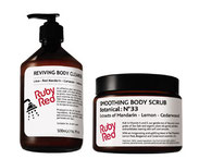 Body Wash and Body Scrub by Ruby Red Cosmetics
