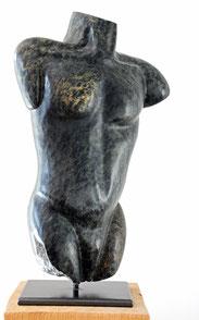 The man Speckstein Skulptur Torso