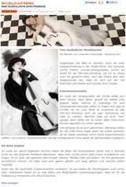Ravienne Art Model - Artikel, Cello, Musik auf Reisen, Kulturarache