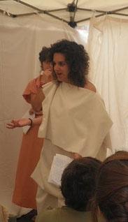 Sílvia Espinach García a la Magna Celebratio del Museu de Badalona