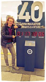 Countdown läuft für meinen 50. Marathonlauf...
