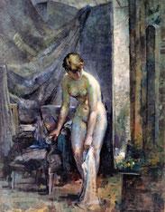 peinture à l'huile, format 245X180 cm, Prix Bonnat, salon des Artistes Français