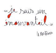 La citation de l'émouvantail de Nac l'artiste de La Rafistolerie via le site de Cloé Perrotin