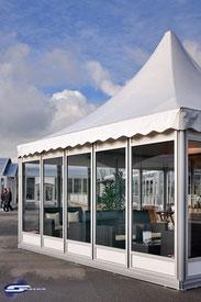 Pagoden und Pavillons bei Zeltverleih Schwemm mieten
